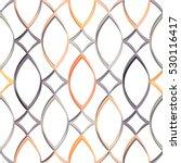 seamless geometric pattern.... | Shutterstock .eps vector #530116417