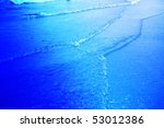 blue abstraction   styled water ... | Shutterstock . vector #53012386