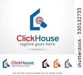 click house logo template... | Shutterstock .eps vector #530132755