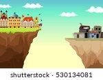a conceptual vector... | Shutterstock .eps vector #530134081