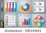 infographic design vector and... | Shutterstock .eps vector #530143651