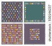 christmas tree napkins | Shutterstock .eps vector #530146237
