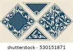 Vintage decorative design elements