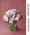 bouquet of flowers | Shutterstock . vector #530156725