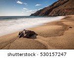 corralete beach. natural park... | Shutterstock . vector #530157247