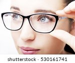 beautiful young woman wearing... | Shutterstock . vector #530161741
