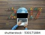 2017 new year business...   Shutterstock . vector #530171884