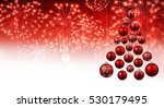 red new year background with...