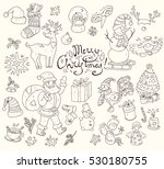 big vector collection of new... | Shutterstock .eps vector #530180755