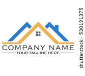 house building logo design | Shutterstock .eps vector #530191375