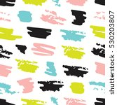 seamless abstract pattern with... | Shutterstock .eps vector #530203807