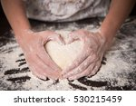 Cooking With Love. Female Hand...