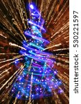 xmas tree from the christmas... | Shutterstock . vector #530221597