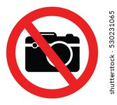 forbidden camera vector | Shutterstock .eps vector #530231065