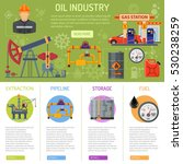 oil industry infographics with... | Shutterstock .eps vector #530238259