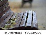 original old wooden bench in... | Shutterstock . vector #530239309
