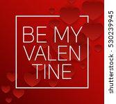 valentine's day heart symbol.... | Shutterstock .eps vector #530239945
