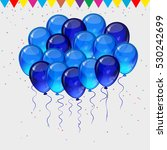 birthday party background  ... | Shutterstock . vector #530242699