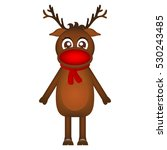 Cartoon Reindeer Clipart Free Stock Photo - Public Domain Pictures