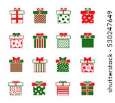 christmas gift boxes vector...