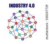 industry 4.0 and internet of... | Shutterstock .eps vector #530247739