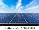 solar panel on sky background | Shutterstock . vector #530248864