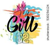 new york girl. print for t... | Shutterstock .eps vector #530256124