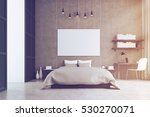 bedroom interior with king size ... | Shutterstock . vector #530270071