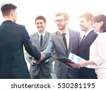 image of business partners... | Shutterstock . vector #530281195