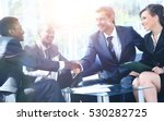 business people shaking hands... | Shutterstock . vector #530282725