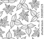 seamless doodle pattern with...   Shutterstock .eps vector #530285125