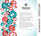 healthcare background with text ... | Shutterstock .eps vector #530311189