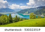 panoramic view of beautiful... | Shutterstock . vector #530323519