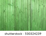 The Old Green Wood Texture Wit...