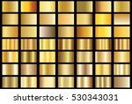 gold gradient background vector ... | Shutterstock .eps vector #530343031