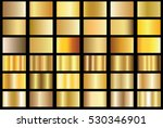 gold gradient background vector ... | Shutterstock .eps vector #530346901