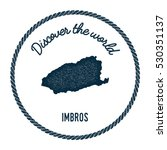 imbros map in vintage discover... | Shutterstock .eps vector #530351137