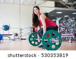 fitness time at health club.... | Shutterstock . vector #530353819