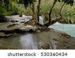 beautiful kuang si waterfall in ... | Shutterstock . vector #530360434