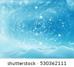 christmas winter landscape with ... | Shutterstock . vector #530362111