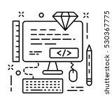 ui development vector icon