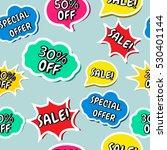 seamless vector background... | Shutterstock .eps vector #530401144