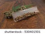 dutch cannabis sativa mixed... | Shutterstock . vector #530401501
