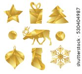 set  christmas icons for your... | Shutterstock .eps vector #530404987