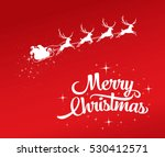 christmas greeting card with... | Shutterstock .eps vector #530412571