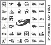 transportation icon vector...   Shutterstock .eps vector #530414035