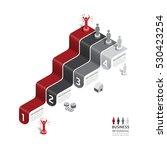 business data process chart.... | Shutterstock .eps vector #530423254