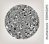 Circular Abstract Fractal...