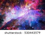 galaxy and nebula. elements of... | Shutterstock . vector #530443579