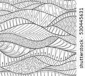 vector hand drawn stripe... | Shutterstock .eps vector #530445631